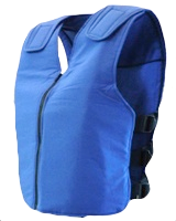 Polar Vest (Blue) Personal Body Cooling Vest Phase Change