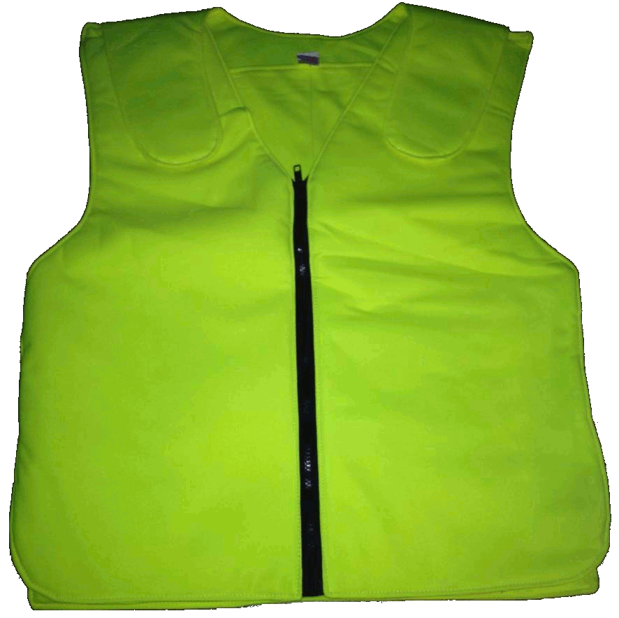 Polar Vest (Hi-Vis) Personal Body Cooling Vest Phase Change